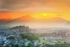 Guilin, Li River and Karst mountains, China Stock Photos