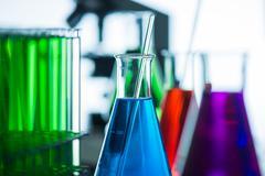 Chemical, Science, Laboratory, Test Tube, Laboratory Equipment - stock photo
