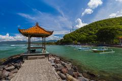 Candidasa Beach - Bali Island Indonesia Stock Photos