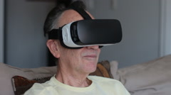 Samsung Gear Vr 2016 - Mobile Virtual Reality Headset Stock Footage