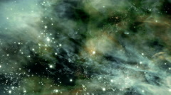 Flying through star fields in space - Space 2180 HD, 4K Stock Video Stock Footage