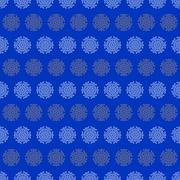 Christmas seamless wrapping paper - snowflakes Stock Illustration