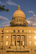 Boise Idaho Capital City Downtown Capitol Building Legislative Center Stock Photos