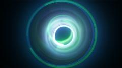 Dynamic circles light painting seamless loop 4k (4096x2304) Stock Footage