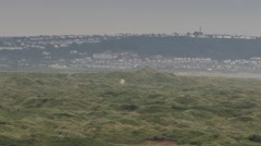 Saunton Sands Dune System Stock Footage