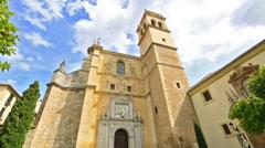 Monastery Granada San Jeronimo Stock Footage