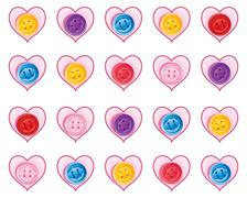 Valentine design Stock Illustration