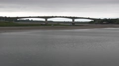 Taw Bridge Road Crossing Stock Footage