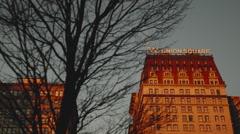NYC UNION SQUARE Stock Footage