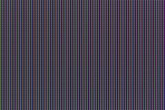 Macro shot of LCD TV matrix - stock photo