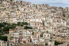Modica in Sicily Stock Photos