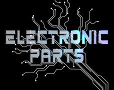 Electronic Parts Meaning Semiconductor Technician And Digital - stock illustration