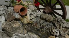 Decoration in Garden Stock Footage
