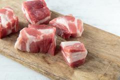 Pork chops Stock Photos
