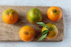 Clementine fruit Stock Photos
