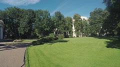 Garden Anichkov Palace Stock Footage