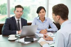 Business Meeting in Office Kuvituskuvat