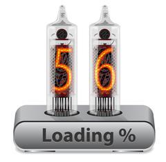 Loading Progress Indicator Piirros