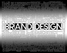 Brand Design Showing Company Identity And Product Piirros