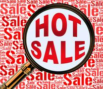 Hot Sale Showing Best Deals And Special Stock Illustration