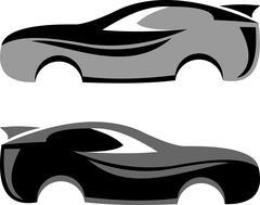 Sport car luxury logo Piirros