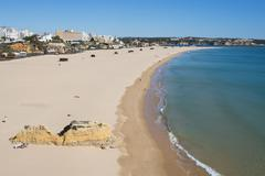 Praia da Rocha, Portimao, Algarve, Portugal, Europe Stock Photos