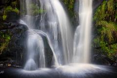 Posforth Gill Waterfall, Bolton Abbey, Yorkshire Dales, Yorkshire, England, Stock Photos