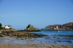 Bryher, Isles of Scilly, England, United Kingdom, Europe Stock Photos