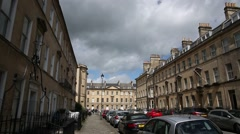 City of Bath - pan Stock Footage