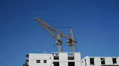 Construction of a multistory building Stock Footage