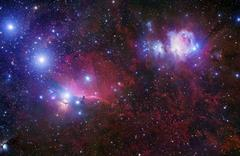 The Belt Stars of Orion Stock Photos