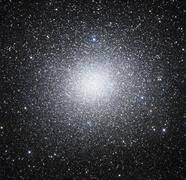 Omega Centauri or NGC 5139 is a globular cluster of stars seen in the Stock Photos