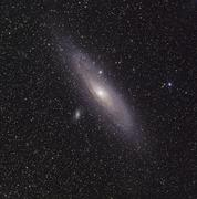 The Andromeda Galaxy Stock Photos