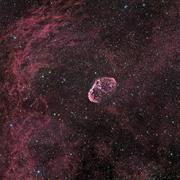 Crescent Nebula - stock photo