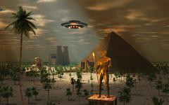 Ancient Civilization Stock Illustration