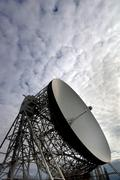 The Lovell Telescope at Jodrell Bank Observatory in Cheshire, England. Stock Photos