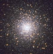 Messier 15, globular cluster in the constellation Pegasus. Stock Photos