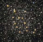 NGC 6362 globular cluster in the constellation Ara. Stock Photos