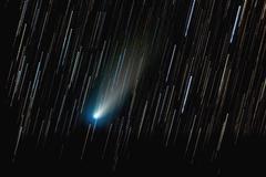 Comet 73P/Schwassmann-Wachmann. Stock Photos