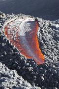 Lava flow on the flank of Pacaya volcano, Guatemala. Kuvituskuvat