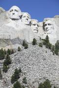 Mount Rushmore National Memorial, South Dakota, USA. Stock Photos