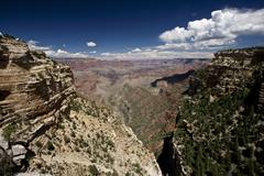 Grand Canyon as seen from Pipe Creek Vista on the South Rim, Arizona. - stock photo
