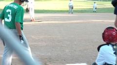 Batter Striking Out Stock Footage