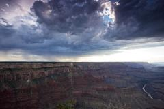 Grand Canyon as seen from Mohave Point South Rim, Arizona. Stock Photos
