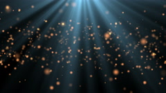 Abstract background with shining animation bokeh sparkles. 4K ultra HD video Stock Footage