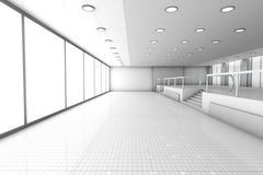 Empty Office. Stock Illustration