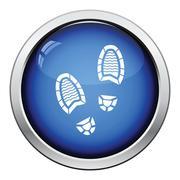 Man footprint icon Piirros