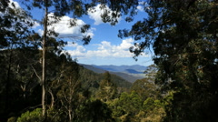 Australia Dividing Range view Stock Footage