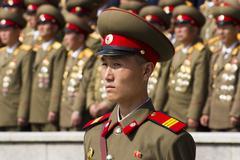 North Korea soldier Stock Photos