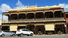 Australia Beechworth hotel - stock footage